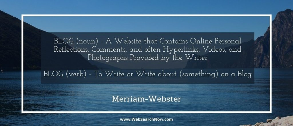 definition of blog to write or write about (something) on a blog